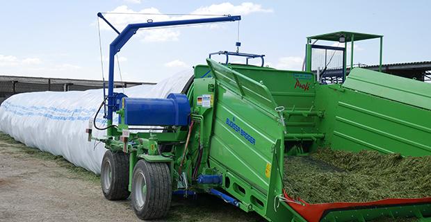 Кормовой конвейер сельскохозяйственный транспортер
